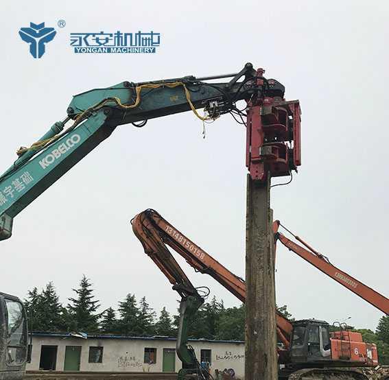 Talos55 侧夹式挖机锤施工-永安工程机械有限公司